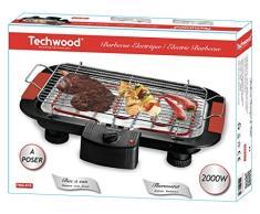 Techwood TBQ-815 Barbecue de Table