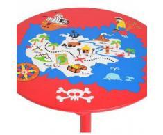 La Chaise Longue Table enfant pirate Réf 33-1E-018