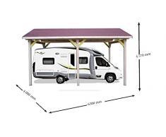 Habrita - HABRITA - Carport pour camping-car