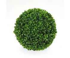 """Paris Prix - Plante Artificielle """"Boule de Buis"""" 30cm Vert"""