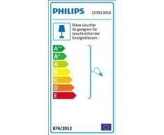 Philips Luminaire Extérieur Lanterne Murale descendante Creek Noire 1x60W 230V