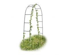 Les Colis Noirs LCN - Gloriette Pergola Arche de Jardin 2m40 Verte Pro 240x140cm