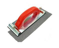 Rotix-13738 Ponceuse manuelle 240 x 90 mm avec plaque en aluminium pour grille de ponçage ou papier abrasif
