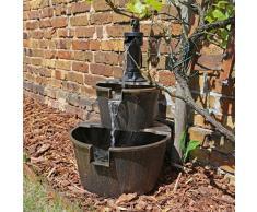 Fontaine design dsb1 en bois pour balcon terrasse ou jardin jardin fontaine