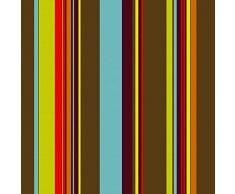 artapisserie.fr Toile Transat Chilienne Extérieure Multicolore n°51, Largeur 43cm, Vendue sur Mesure au Mètre