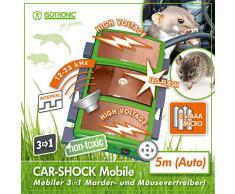 ISOTRONIC martres de protection mobile LED haute tension à ultrasons fouines protection anti-martres pour voiture maison garage carport