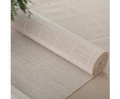 ZAQI Store Jour Nuit Store occultant Stores Blancs de Style Japonais - Store occultant en Bambou pour Balcon avec Porte-gloriette, 65cm / 85cm / 105cm / 125cm / 135cm de Large (Taille : 105×240cm)