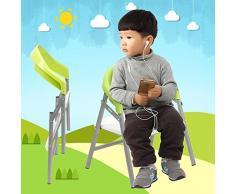 AMYMGLL Chaise pliante enfant dos banc bébé tables à manger de la maternelle tabouret des fauteuils et chaises protection de l'environnement anti-skid sélection Safe Multicolor