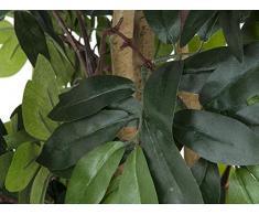 Arbuste Ficus Benjamina artificiel, vert, 180 cm - ficus artificiel / plante verte artificielle - artplants