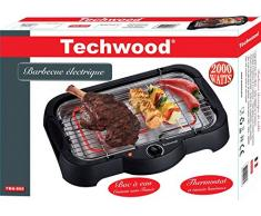 Techwood TBQ-805 Barbecue Electrique Thermostat