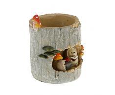 VORCOOL Mignon hérisson fleur Sedum Succulent Pot planteur Bonsai creux boîte lit bureau maison jardin Pot Decor