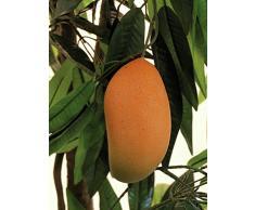Arbre artificiel, Manguier, quelques fruits, lianes, 180 cm - petit arbre fruitier / arbuste artificiel - artplants