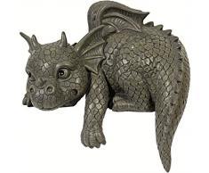 La figure du Dragon! Jardin! Figure! Gargouille!