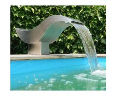 Cascade pour piscine ou bassin Led Birdie design