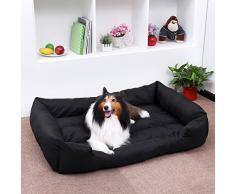 Songmics Panier lit chien Dog Bed Coussin Matelas pour chien XXL 120x85x30cm PGW30H