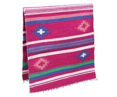 KERBL Tapis de Selle Navajo pour Cheval Rose