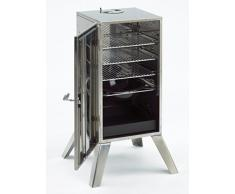 Landmann 11090 Barbecue Fumoir Acier Inox Argenté 101,5 x 54 x 48,5 cm