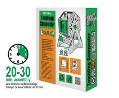 Best4garden 105 litre Composteur – Processus de vitesse – éclairés tournant – Facile à monter – Système d'aération et mélanger – Heavy Duty Structure – Convient pour l'année – Plastique recyclé dans
