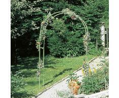 Gloriette métal verte hauteur 230 cm