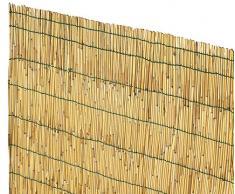 VERDELOOK Canisse Chinoise en Bambou pelé, 1 x 3 m, Bambou pour clôtures et décorations