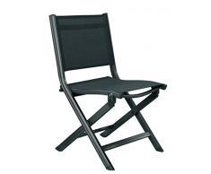 Kettler Advantage Chaises pliantes Basic Plus Chaise pliante de balcon Multicolore