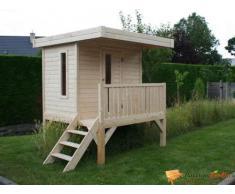 Maisonnette en bois pour enfants Tom moderne