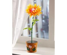 Plante artificielle à LED solaire couleur changeante