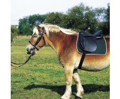 """Selle EXCELSIOR cheval de trait - noir - 18"""""""