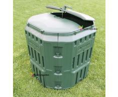 Très solide Composteur de jardin Poubelle à compost Converter 340L unité Vert
