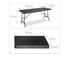Tables terrasse couleur Noir » Acheter en ligne sur Livingo