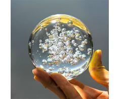 Cristal Billes de verre fontaine à eau bulle boule feng shui verre décoratif boules Maison intérieur Fontaine à Eau Figurines (60mm)