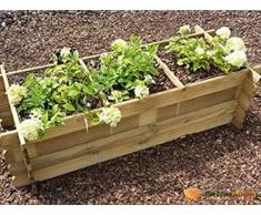 Carré de potager en bois traité Persil rectangle