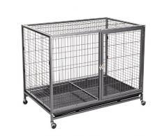 Cage d'intérieur pour chien Niche