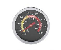 50~800 G jauge de température de thermomètre de barbecue en acier inoxydable pour la cuisson de barbecue