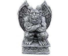 Stone and Style Statuette de gargouille de Grenouille résistante au Gel Résiste aux intempéries