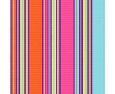 Toile Transat/Chilienne extérieure Multicolore n°80 Largeur 43cm, Vendue sur Mesure au Mètre - Tissu Outdoor