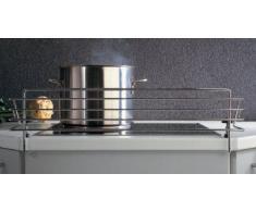 SO-TECH® Grille de sécurité enfants pour plaques de cuisson pour 60 cm plaque Longueur: 678 mm / Hauteur: 140 mm / Profondeur: 175 mm