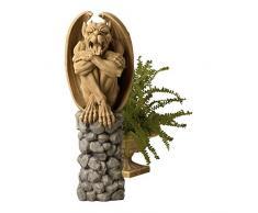Design Toscano sculpture Trystan, la gargouille sentinelle de la nuit