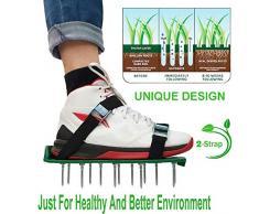 Sandales Aérateur Pelouse Rouleau Aerateur de Pelouse Chaussure à Gazon, Chaussure à Gazon, Pelouse (1)