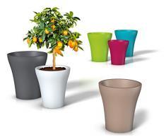 pot de fleur en plastique acheter pots de fleur en plastique en ligne sur livingo. Black Bedroom Furniture Sets. Home Design Ideas