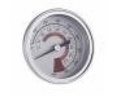 Barbecue Thermomètre Indicateur de Température à Double Jauge