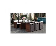 Salons de jardin encastrable couleur Marron » Acheter en ligne sur ...