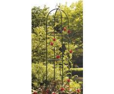 gloriette decorative de jardin obelisque 185cm tuteur pour roses et fleurs Colonne rose plante grimpantes