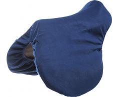 Housse de selle fibres polaires - bleu marine - cheval
