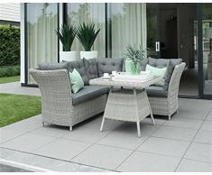 LD Poly rotin meubles de jardin lounge Salon de jardin Siège Groupe