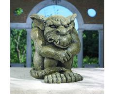 Design Toscano Statue gargouille forcée à rester en place