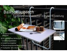 Table pliante Balcon 60x40 cm