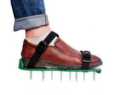 Sandales Aérateur Pelouse Rouleau Aerateur de Pelouse Chaussure à Gazon, Chaussure à Gazon, Pelouse (2)