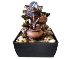Fontaine dintérieur Jarras/ Sphère verre