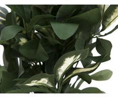 Arbuste artificiel, Schefflera, en pot, 440 feuilles, 90 cm - Schefflera artificiel / Plante verte artificielle - artplants